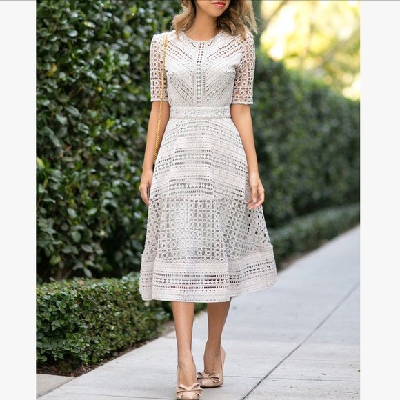 e5f50c6cf2 ASOS Dresses & Skirts - Asos Premium Occasion Lace Midi Dress